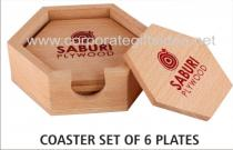 COASTERS WOODEN